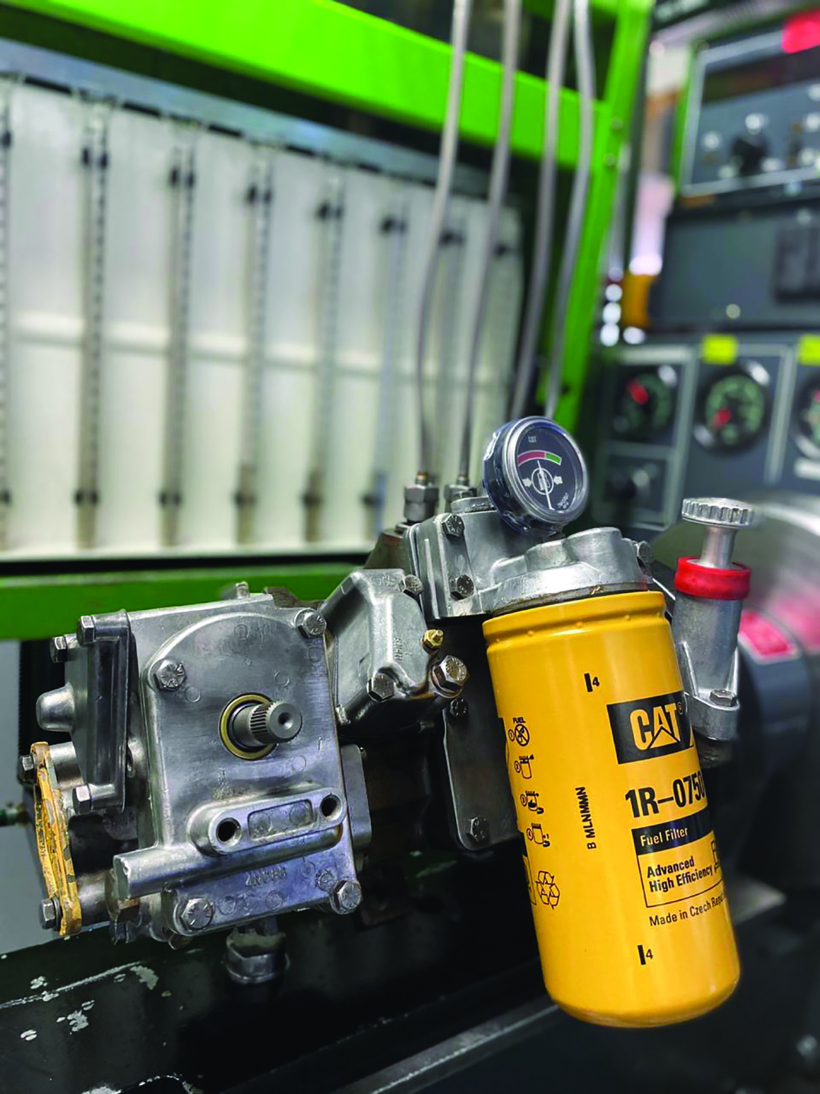 Specialist expertise and equipment allow Reef Fuel Injection Services to accurately diagnose faults in Cat fuel injection systems quickly and get these machines back on the road in double-quick time.