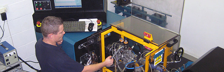 Caterpillar Hydraulic Electric Unit Injector tester detailed reports