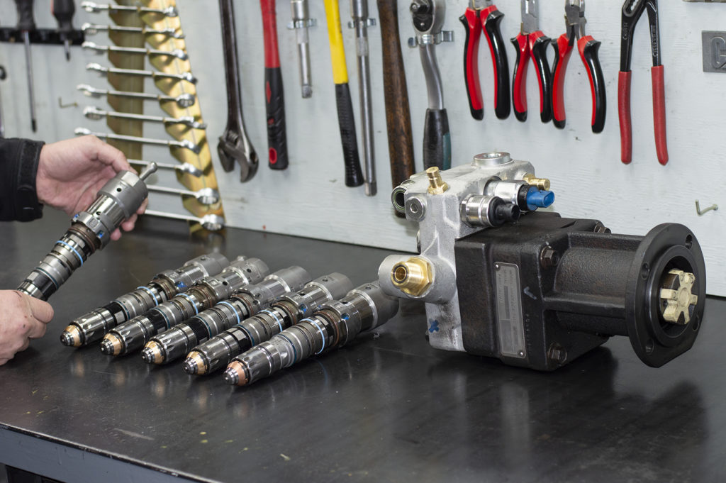 Land Rover TD5 Injectors